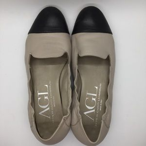 AGL Cap Toe Loafers